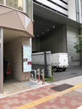 GINZA12ビルの内装