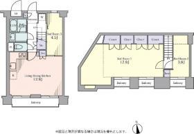 エスポワール狛江:基準階図面