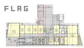 FLAGビル:基準階図面