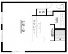 第2宝徳ビル:基準階図面
