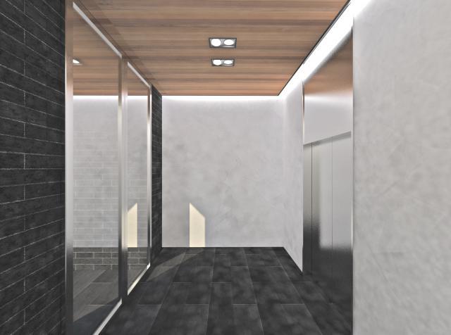 第16スカイビル 6F 48.3坪(159.66m<sup>2</sup>)の内装
