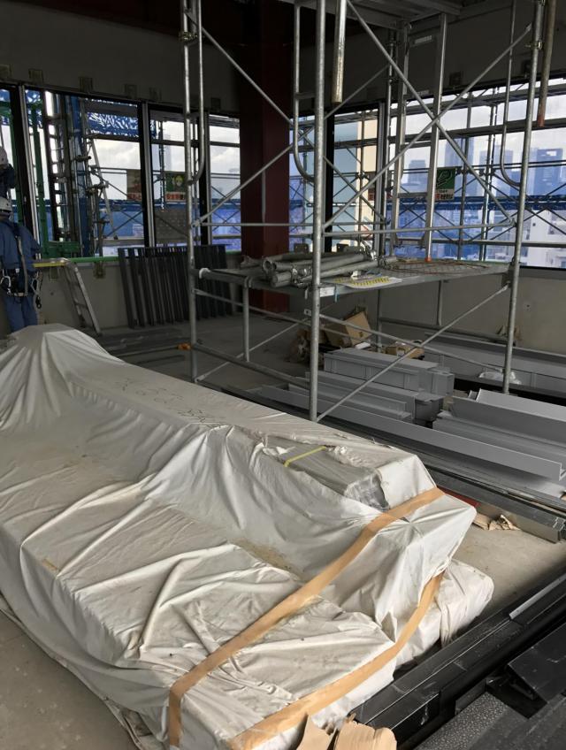 第16スカイビル 3F 56.1坪(185.45m<sup>2</sup>)の内装