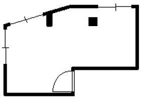 ハーモニ本館:基準階図面