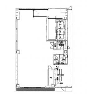 DAI3銀座本社ビル:基準階図面