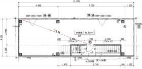 マガザン銀座東Ⅱビル:基準階図面