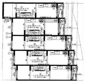 メゾンドミエル恵比寿:基準階図面