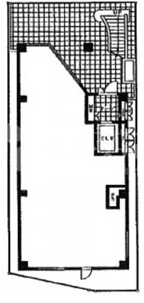 三共ビル:基準階図面