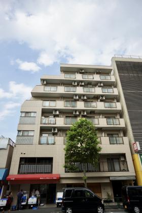 キャピタルハイツ神楽坂の外観写真