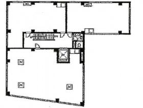 半蔵門ウッドフィールド:基準階図面