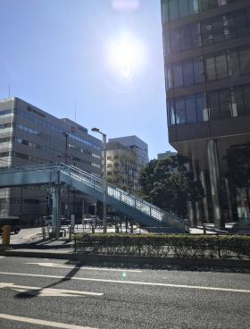 Shinagawa HEART(旧:HATO BUS KONAN)ビルの内装