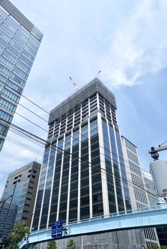 Shinagawa HEART(旧:HATO BUS KONAN)ビル 3F 337坪(1114.04m<sup>2</sup>)のエントランス
