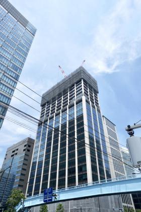 Shinagawa HEART(旧:HATO BUS KONAN)ビルのエントランス