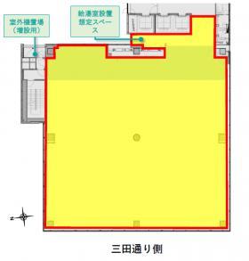 芝5丁目プロジェクト:基準階図面