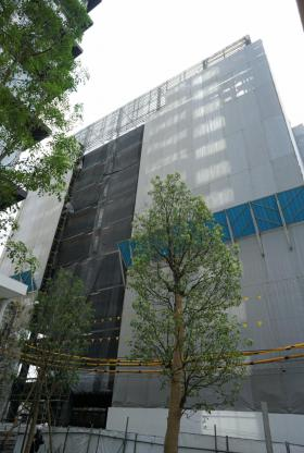 PMO八丁堀新川ビルのエントランス