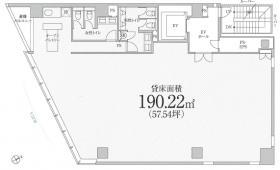 PMO京橋東ビル:基準階図面
