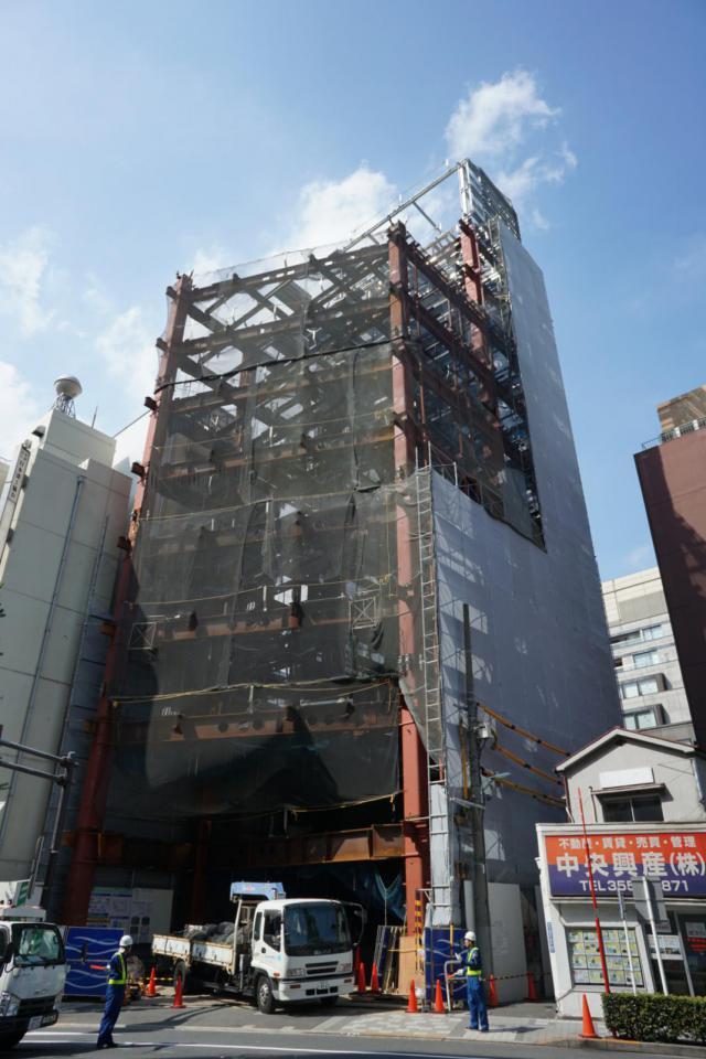PMO京橋東ビル 10F 57.54坪(190.21m<sup>2</sup>)のエントランス