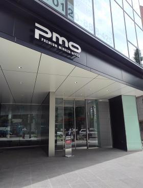 PMO京橋東ビルのエントランス