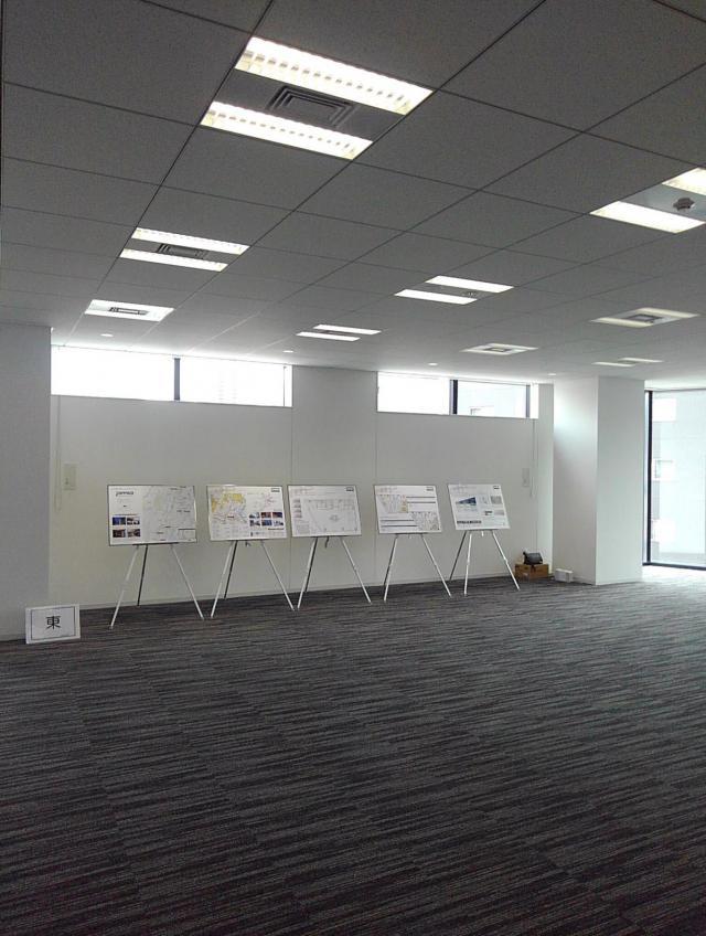 PMO京橋東ビル 4F 57.54坪(190.21m<sup>2</sup>)の内装