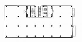 五色橋ビル:基準階図面