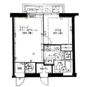 新宿セントラルハイツプラザビル:基準階図面