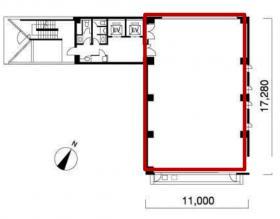 神田センタービルディングビル:基準階図面