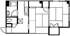 赤塚ビル:基準階図面