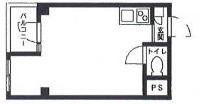 Siesta日本橋ビル:基準階図面