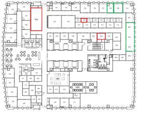 レンタルオフィス新橋(EXPERT)ビル:基準階図面