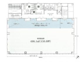 仮称)神谷町計画:基準階図面