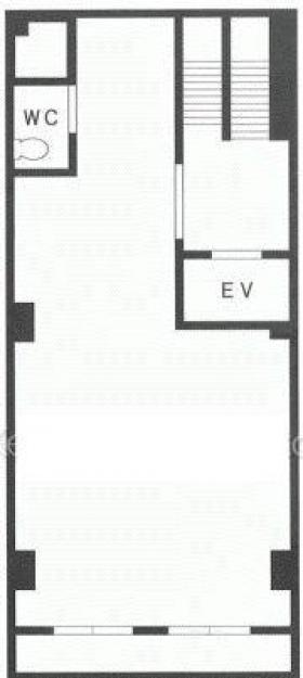 大門マイアミビル:基準階図面