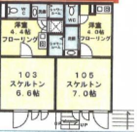 アルチザン表参道ビル:基準階図面