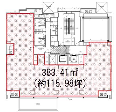 TS麹町BLDG 3F 31.48坪(104.06m<sup>2</sup>) 図面