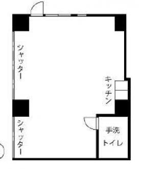 鶴見ダイカンプラザビル:基準階図面