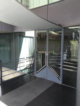 アシジ神泉ビルの内装