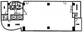 不二ラテックスビル:基準階図面