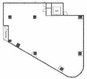 第Ⅲ大栄ビル:基準階図面