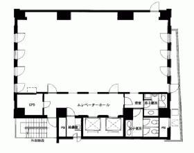 ELTZ6ビル:基準階図面