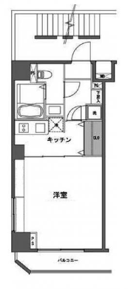 フォレシティ九段ビル:基準階図面