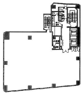 二番町三協ビル:基準階図面