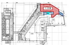 キュープラザ原宿:基準階図面