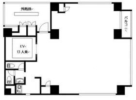 ブレステン西新宿:基準階図面