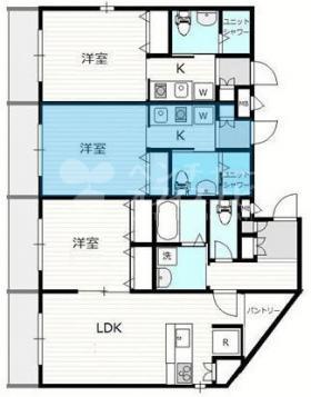 Yoyogi terrace:基準階図面