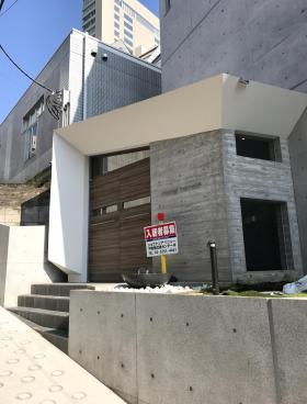 Yoyogi terraceのエントランス