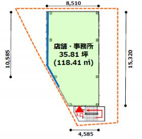 フォーリーフ南青山:基準階図面