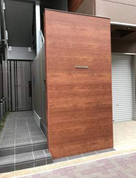 AKハイム笹塚ビルのエントランス