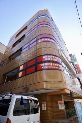 ウエステール早稲田の外観写真