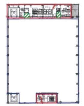 OCS東京スカイゲート:基準階図面
