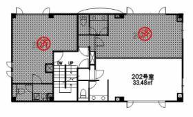 スカイカラー南青山ビル:基準階図面