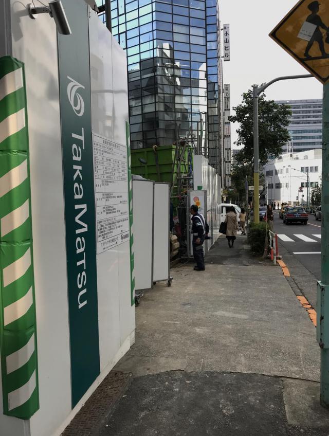 仮称)渋谷一丁目計画ビル 8F 30.5坪(100.82m<sup>2</sup>)のエントランス