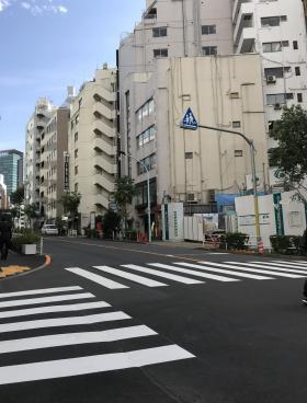 仮称)渋谷一丁目計画ビルの内装